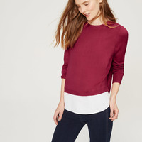 Two-In-One Sweater | LOFT