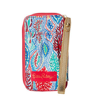 Lilly Pulitzer Carded ID Smart Phone Wristlet Multi Let Minnow - Zappos.com Free Shipping BOTH Ways