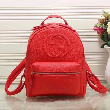 Gucci New Fashion Women Leather Bookbag Shoulder Bag Handbag Backpack