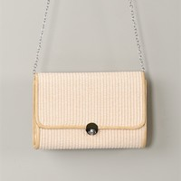 Straw Picnic Crossbody