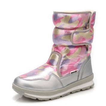 Camouflage Winter Women's Boots
