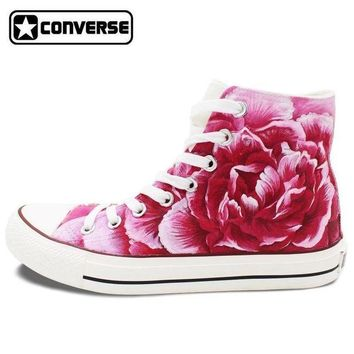 DCCK8NT roses painted converse