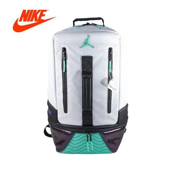 Original New Arrival Authentic Nike Air Jordan 11 BackPack AJ11 School Bag Sport Outdoor Sports Bags Good Quality 9A1971-W51