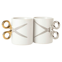 Fab: Scissors Mugs Set Of 2