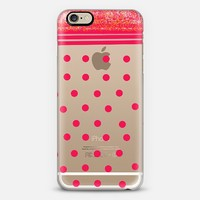 red dots iPhone 6 case by Marianna Tankelevich | Casetify