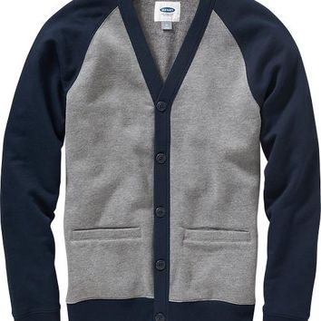 Old Navy Mens Fleece V Neck Cardigans