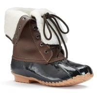 Totes Daphne Women's Winter Waterproof Duck Boots