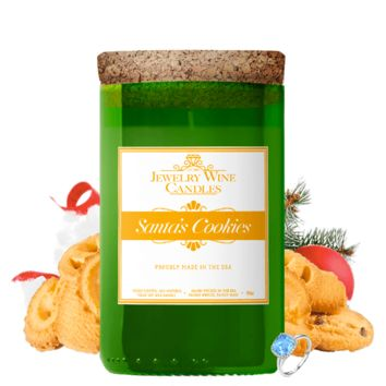 Santa's Cookies | Jewelry Wine Candle®