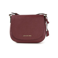 Michael Kors Hamilton Large Claret Messenger Bag