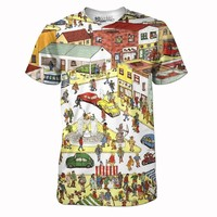 Where The Hell's Waldo Tee