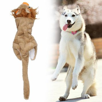Dog Toys Pet Puppy Chew Squeaker Squeaky Plush Sound Toys Plush Squeaky Animal Chew Attract Dog Cat Pet Squeak Toy Products