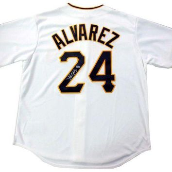 DCCKJNG Pedro Alvarez Signed Autographed Pittsburgh Pirates Baseball Jersey (MLB Authenticated)