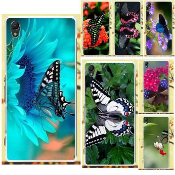 Salvestro TPU Cell Case 2018 Minions Butterfly For Sony Xperia Z Z1 Z2 Z3 Z4 Z5 compact Mini M2 M4 M5 T3 E3 XA