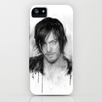 TwD Daryl Dixon. iPhone & iPod Case by Emiliano Morciano (Ateyo)