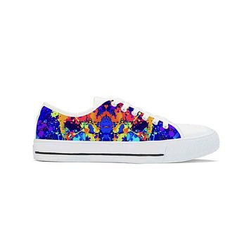 Splat - Low Top Canvas Shoes