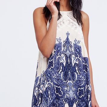 Shea Printed Mini Dress - Ivory Combo by Free People