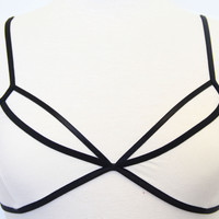 Ivory Crossed My Mind Bralette - One