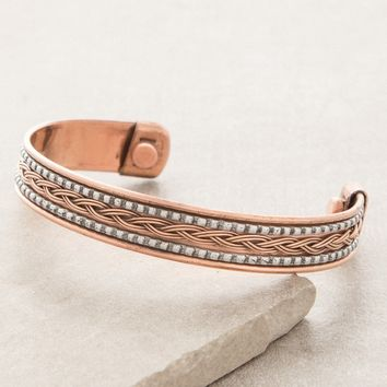 Cosmic Copper Magnetic Bracelet
