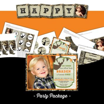 Camo Birthday Party Package