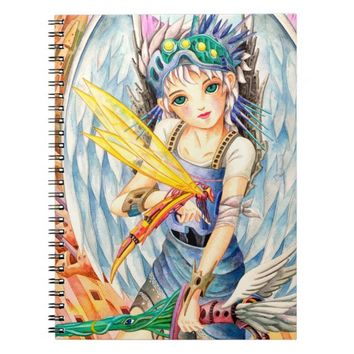 Girl Swordsman Notebook