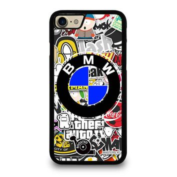 BMW STICKER BOMB iPhone 7 Case Cover