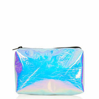 IRIDESCENT MAKE UP BAG
