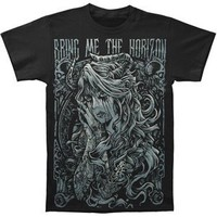 Bring Me The Horizon Men's Reach For The Sky Slim Fit T-shirt Black