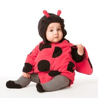 Carter's Microfleece Ladybug Costume - Baby Girl (Red)