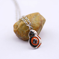 Star Wars BB-8 Droid Mini Pendant Necklace