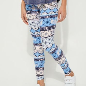 Medallion Boho Elephant Legging