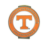 Tennessee Volunteers Hat Clip with Double Sided Golf Ball Marker