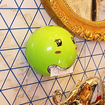 Alien Expression Toilet Paper Box Bathroom Toilet Paper Towel Holder Mobile Phone Magnetic Storage Waterproof Heat Resistant