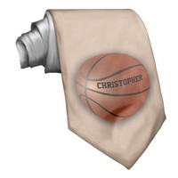 Basketball Custom Tie