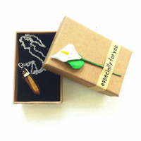 Beautiful Necklace Pendant Neklace with Chain Gifts for Friendship Statement