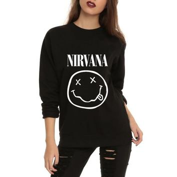 Nirvana pullover sweater top