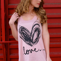 We Found Love Tank Top: Pink
