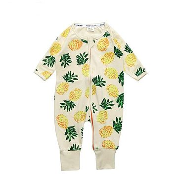 Baby girls cute baby jumpsuit Cotton girls Boys Clothing Sets Newborn Overalls