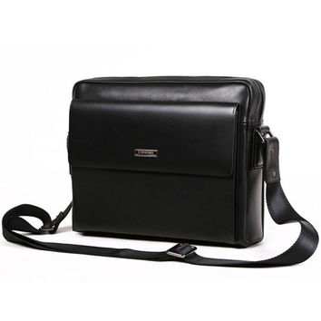 Byarms Briefcase Handbag for Business Men's Style & Appearance