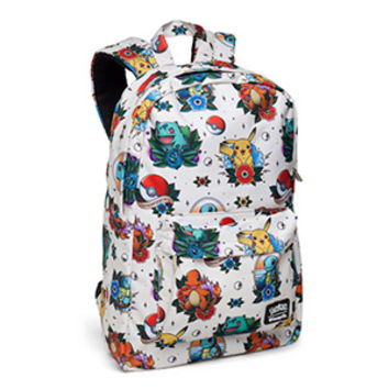 Pokémon Tattoo Flash Backpack