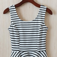 Picture Perfect Peplum Top