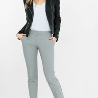 Light Gray Columnist Ankle Pant from EXPRESS