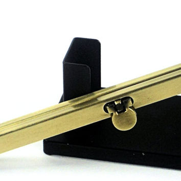 "19cm Antique Gold Screw In Clutch Wallet Frame,  7.25""  Purse Frame, Purse Making Hardware Supplies @ MeiMei Supplies in USA"