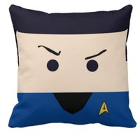 Handmade Star Trek Spock Pillow