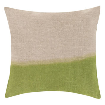 Dip Dye Decorative Pillow