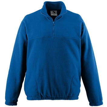 Augusta 3531 Youth Chill Fleece Half-Zip Pullover - Royal