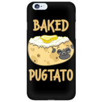 Baked Pugtato iPhone Case