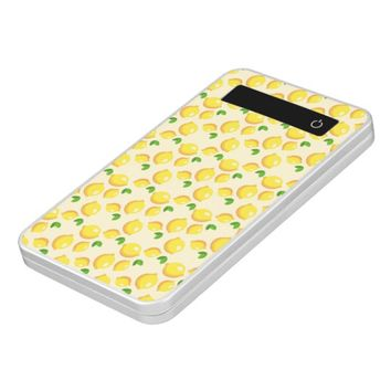 Lemon Pattern Power Bank