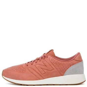CREYI7E New Balance 420 Deconstructed Salmon with Grey Men's Sneaker