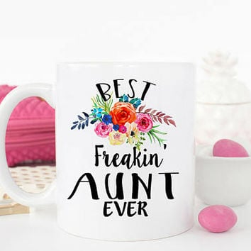 Best Aunt Ever mug, BAE, New Aunt Gift, Pregnancy Reveal, Baby Announcement to Aunt, Gift for Auntie, Aunt to be, Aunt Mug, AAA_001a