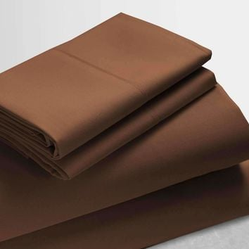 Anina Solid 1000 Thread Count Cotton Soft Sheets